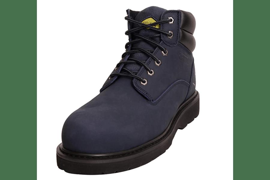 STEEL EDGE Non-Slip Steel Toe Work Boots