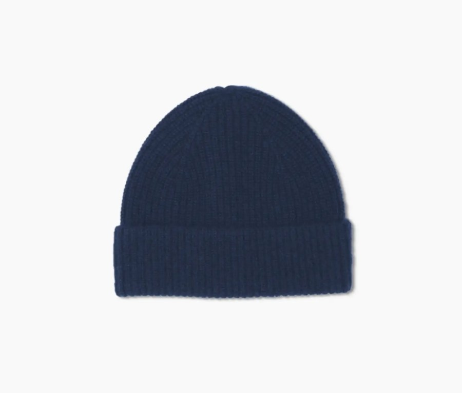 Quince Mongolian Cashmere Ribbed Beanie