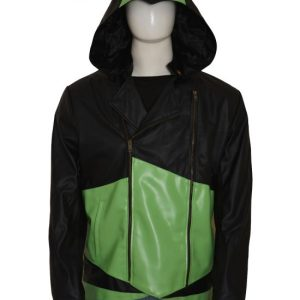 Assassin's Creed III Black And Green Coat