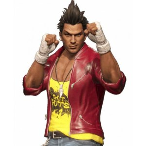 Diego Dead Or Alive 6 Leather Red Jacket