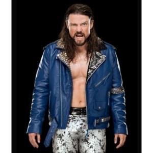 Wrestler Brian Kendrick WWE Blue Jacket