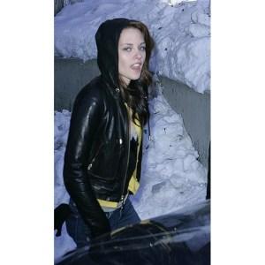 Twilight Saga Kristen Stewart Leather Jacket For Women's
