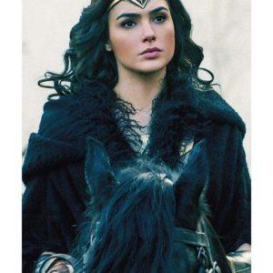 Gal Gadot Wonder Woman 1984 Costume Coat