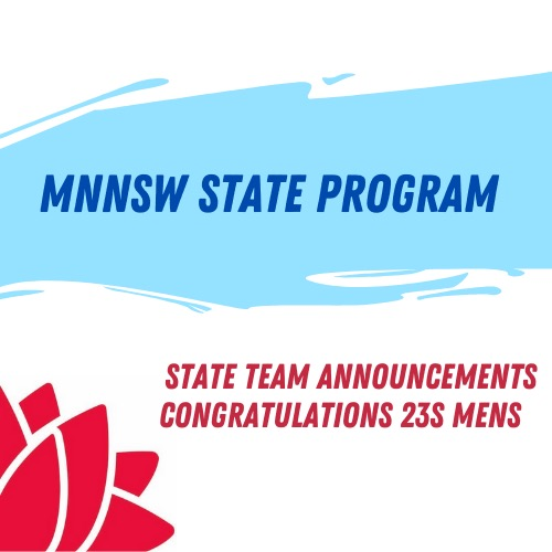 MNNSW 23 and Under Team Announced