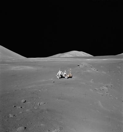 cratères lune