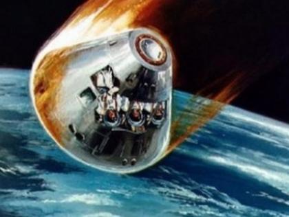retour apollo capsule