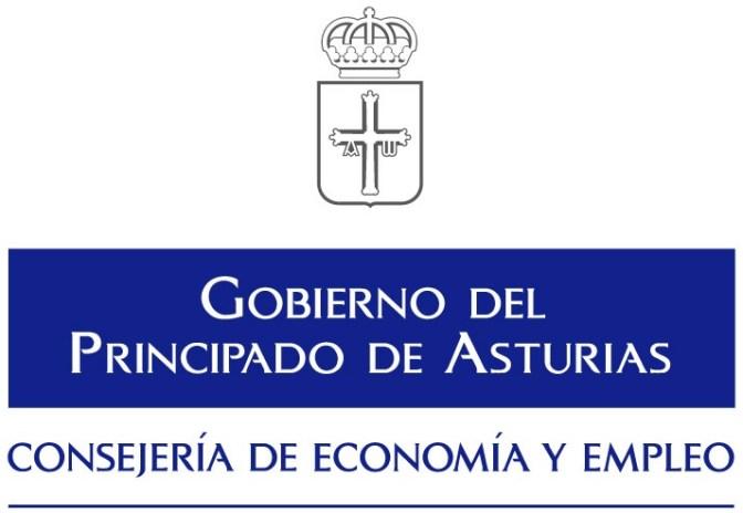 logo consejería de economía y empleo asturias