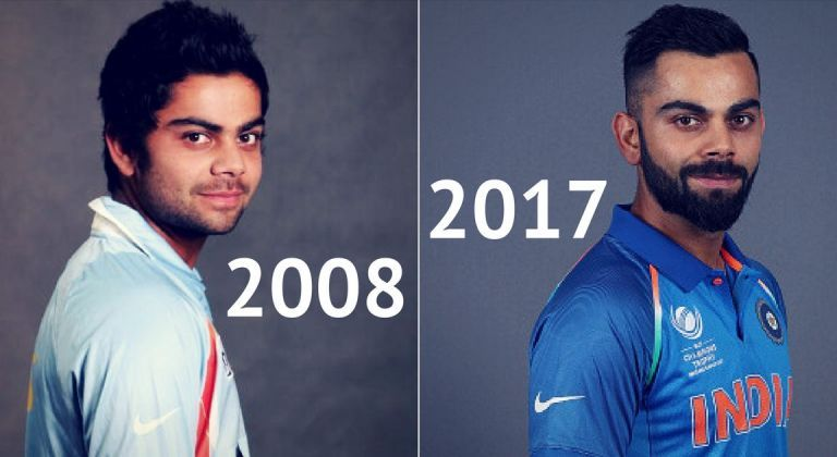 Virat Kohli Evolution Of A Style Icon Over The Years