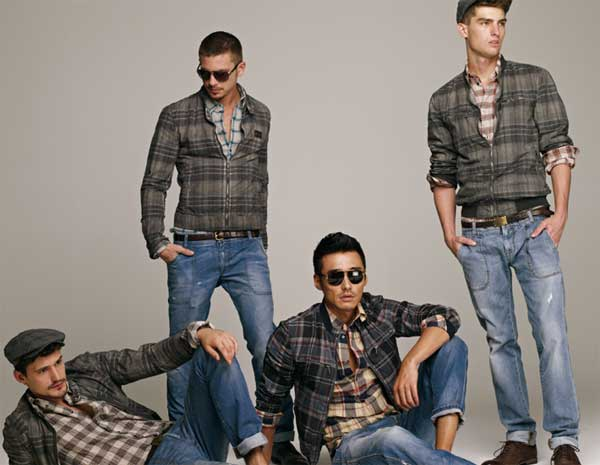 D&G Checkered Style Shirts 2