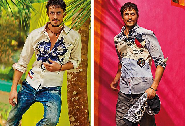 Desigual – Graffiti Art Shirts & Flamboyant Colours