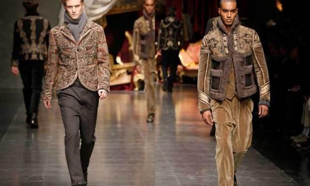 Dolce & Gabbana – Men's Winter Collection 2013