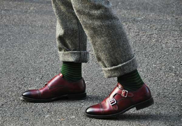 Classical Double Monk Strap shoe