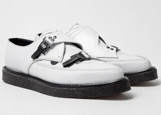 Monk strap shoe punk