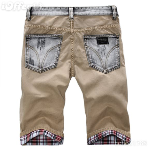 2012 summer dolce & gabbana d&g mens jeans denim shorts