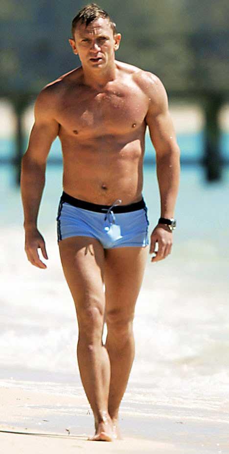Daniel Craig James Bond Swimwear