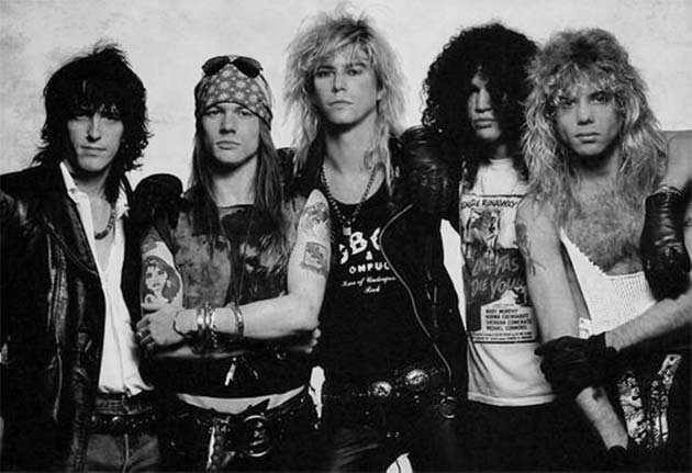 Guns 'N Roses – Rock Fashion Is Coming Back For 2013