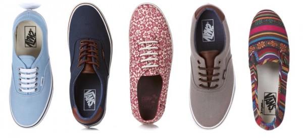 vans floral shoes men collection 2012