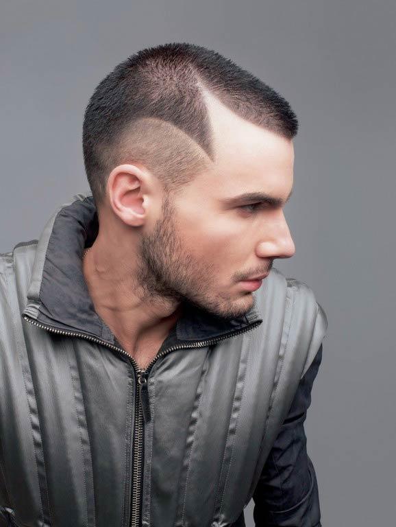 men hairstyles 2012, skin head look