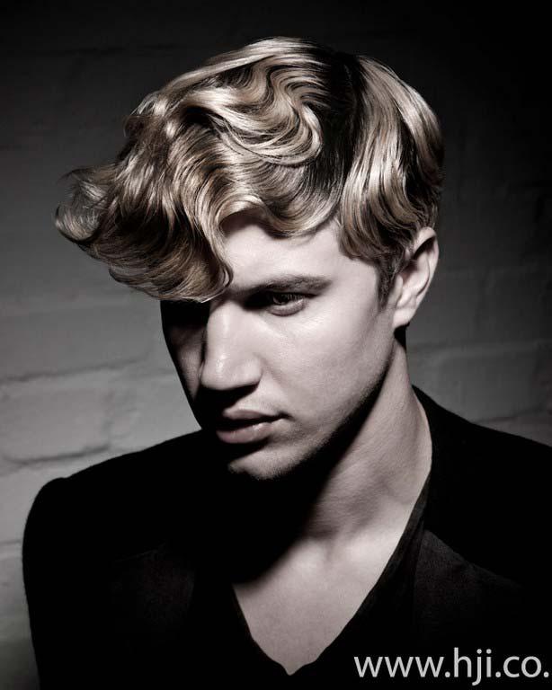 men hairstyles 2012 wave look