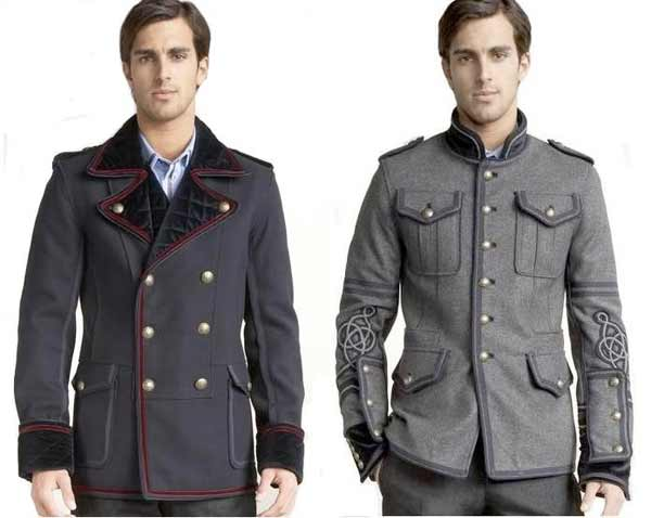 D&G military jackets for men.