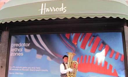Harrods London – Head Down To The Men's Lab