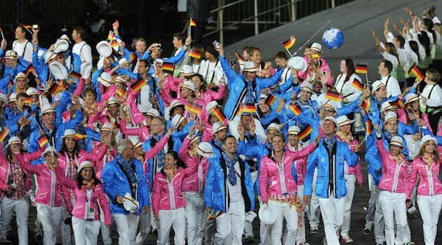 London Olympic 2012 Uniforms – Who wore it best?