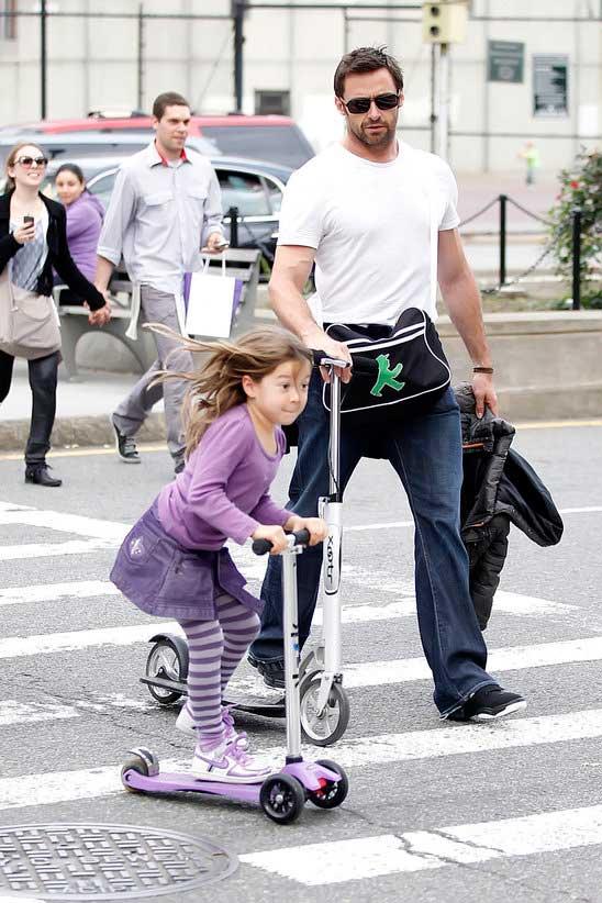 huge jackman celebrity dad