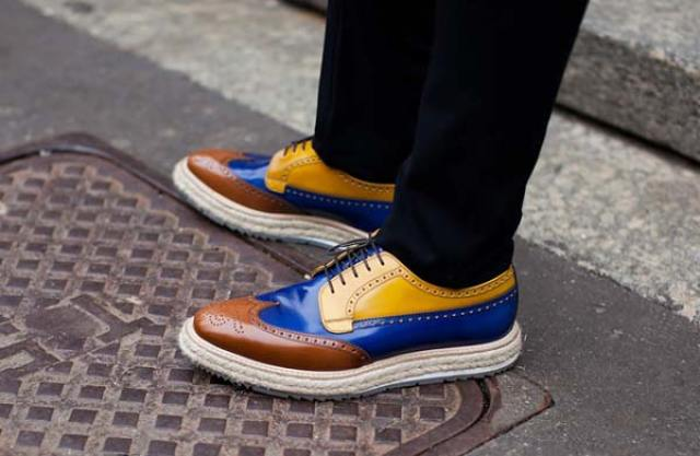 prada-brogue,brown,blue and yellow 2012