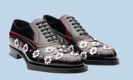 Prada Brogues – Floral Shoe Hits The Street