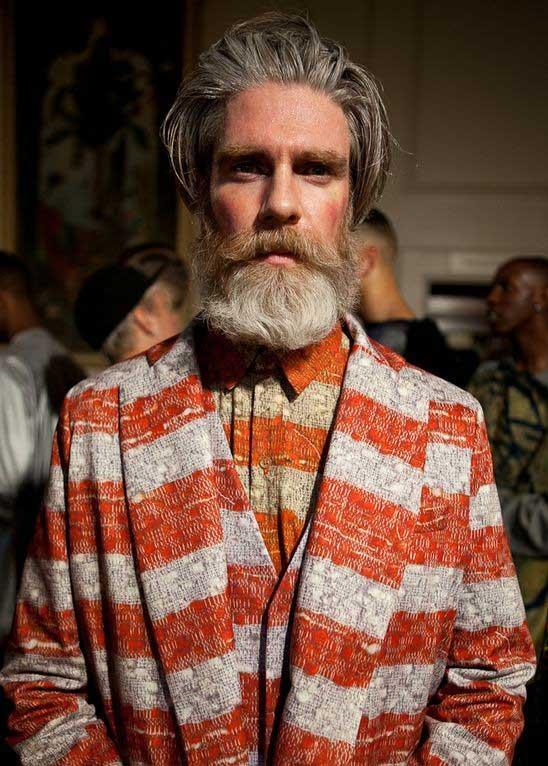 man wearing a beard 2012 - Miles Better