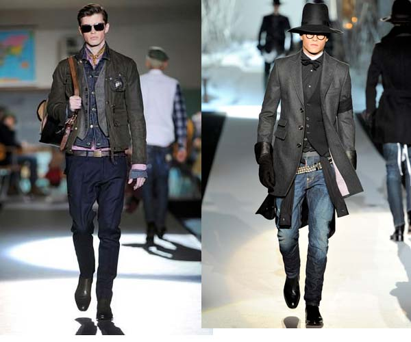 DSquared Mens Fall 2012 waistcoat