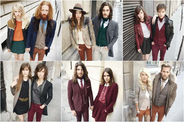 The Kooples - collage of couples