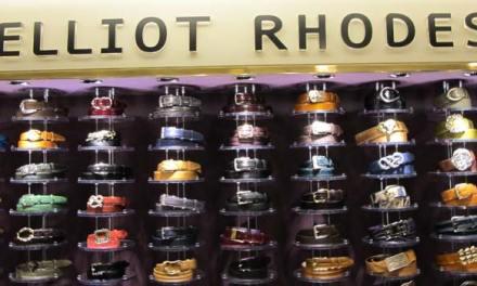Elliot Rhodes Belts & Buckles – Harrods Launch Event