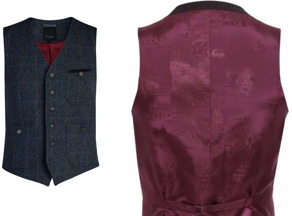 ted baker - men's wool waistcoats