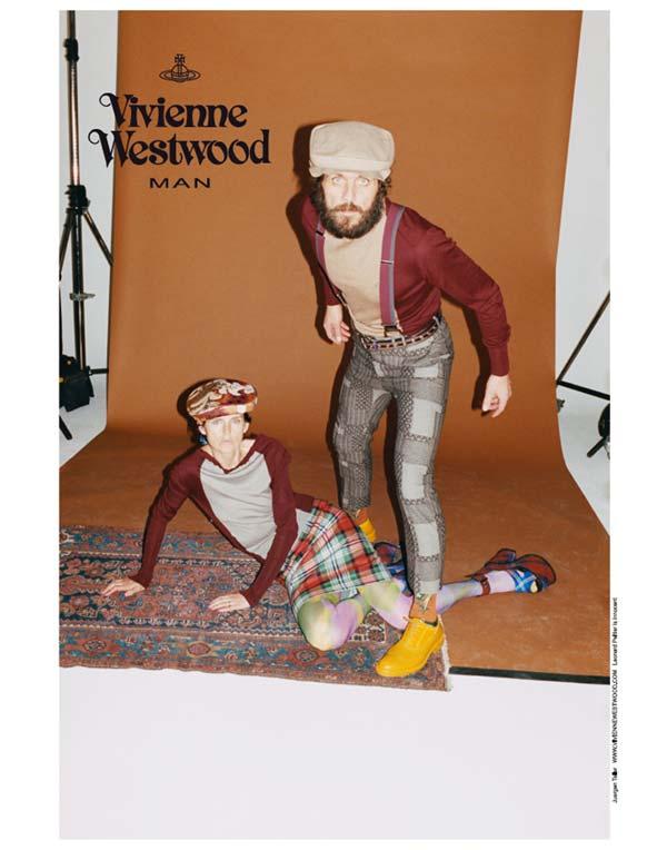 vivienne westwood man 2012 - model with beard - Andreas Kronthaler