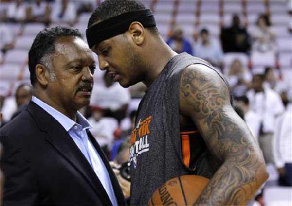 Carmelo Anthony - confident man - basketball