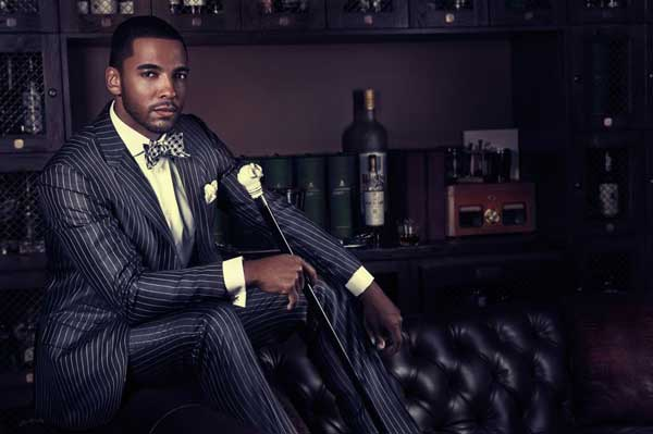 Confidence Campaign - Chae Mich - pinstripe suit