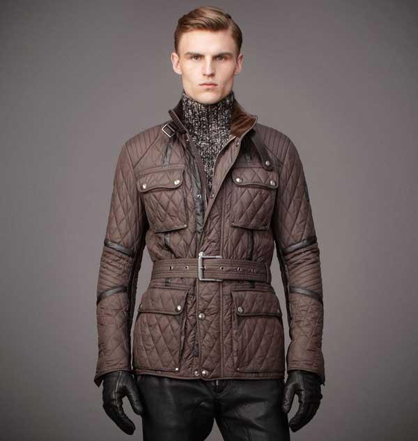 belstaff overcoat winter