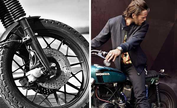 Blitz Motorbike -  Vintage Military jacket