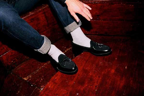 sock mr hare with white socks