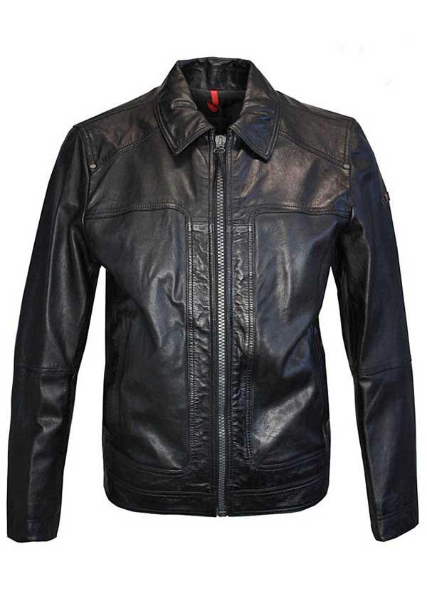 Strellson Sportswear - Herren Lederjacke - leather jacket