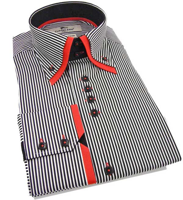 Claudio Lugli Shirt - Double Collar Shirt