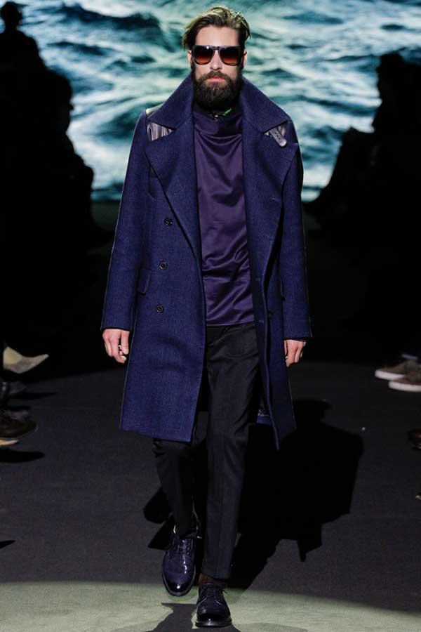 paul smith long winter jacket - 2013