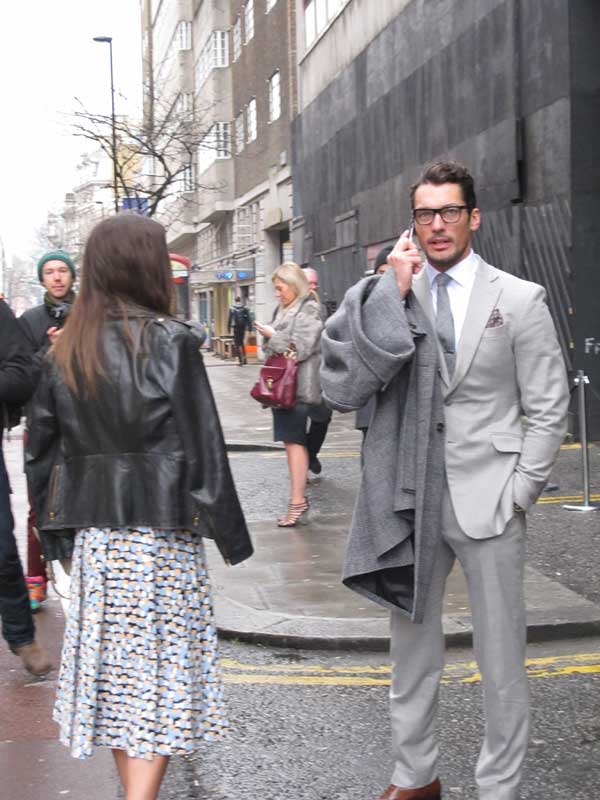 David Gandy - London Collections Men 2013 - 3
