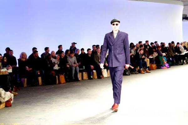 YMC - London Collections: Men - Purple Suit