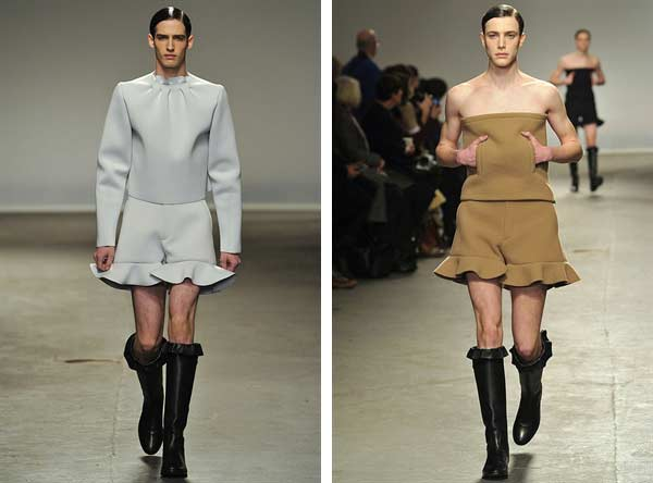 J.W. Anderson - London Collections: Men - Autumn Winter 2013 - 1