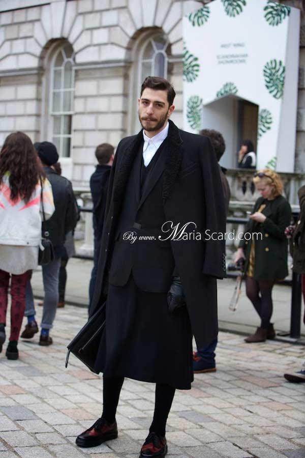 London Fashion week what men are wearing 10