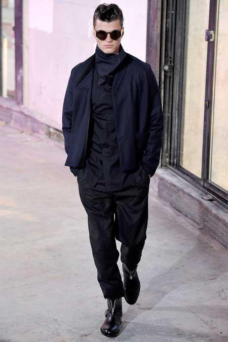 Phillip Lim Men's Collection 2013 Pinstripe jacket