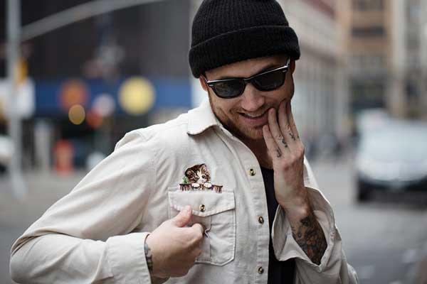 USA - white jacket