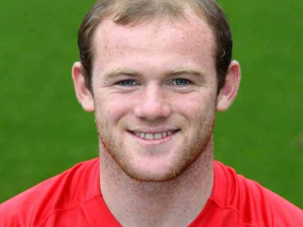 Wayne Rooney - Manchester United - Bald Hair